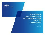 KPMG PPT - Tax Executives Institute, Inc