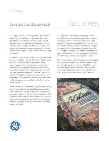fact sheet - GE Energy