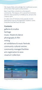 Arts Round The Shire - Bass Coast Shire Council - Page 2