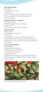 Arts Round The Shire - Bass Coast Shire Council - Page 6