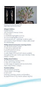 Arts Round The Shire - Bass Coast Shire Council - Page 7