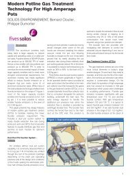 Article published in Aluminium World magazine - vol2, 2010. - Fives