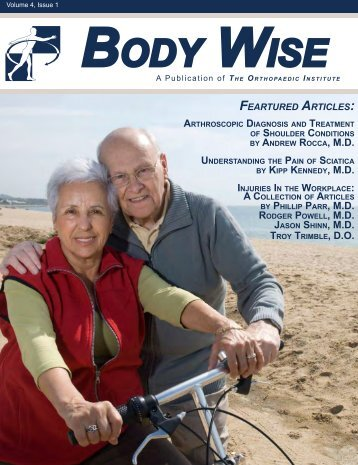 BODY WISE - The Orthopaedic Institute