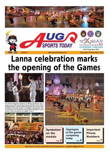 ISSUE 4 - Chiangmai mail