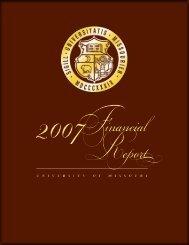 FY 2007 - University of Missouri System