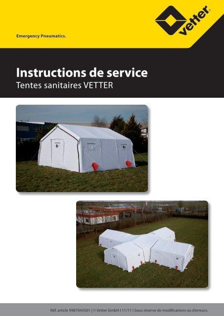 Instructions de service - Vetter GmbH