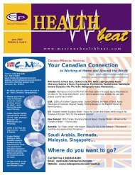 June 2002 - McCrone Healthbeat
