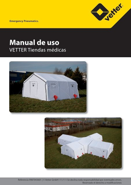 OI Medical tents (spanish) - Vetter GmbH