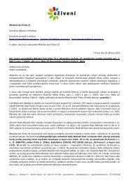 vyzvalo zastupitele k přehodnocení postupu rady - Bezkorupce