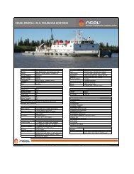 mv pisurayak kootook - Northern Transportation Company Limited