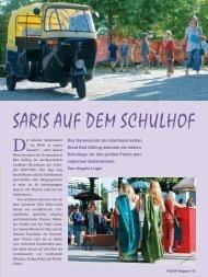 SARIS AUF DEM SCHULHOF - Gymnasium Bad Aibling
