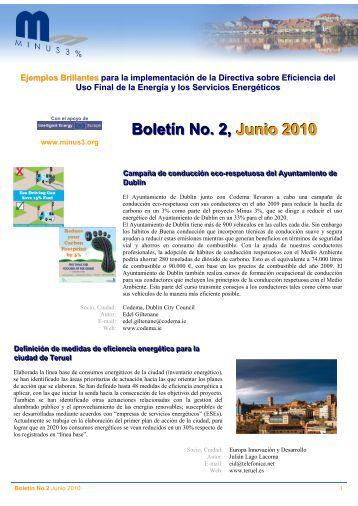 Boletín de noticias núm. 2 - Minus3.org