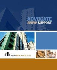 Annual Report 2009 - FRPO