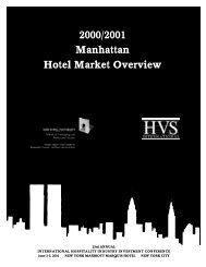 2000/2001 Manhattan Hotel Market Overview - HVS.com