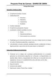 Información Diario de Obra