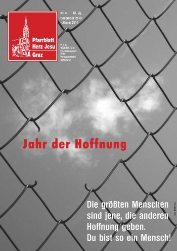 Pfarrblatt 4/2013 - Stadtpfarre Graz Herz-Jesu