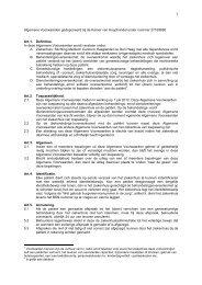 Algemene Voorwaarden MCH 2012 definitief per 01 07 2012