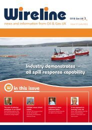 Wireline - Issue 17 July 2011 (PDF File 1.66MB) - Oil & Gas UK