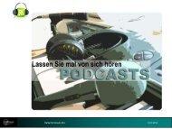 PODcasts - Sternstunde für Unternehmer