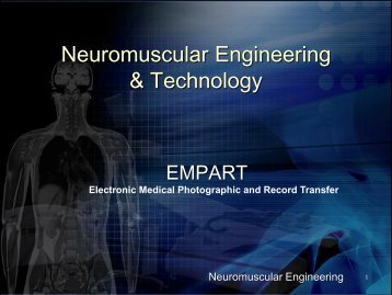 Neuromuscular Engineering & Technology - Isotechnology.net