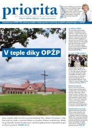 Priorita 04/2011 - Státní fond životního prostředí