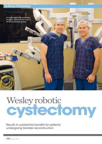 Wesley robotic