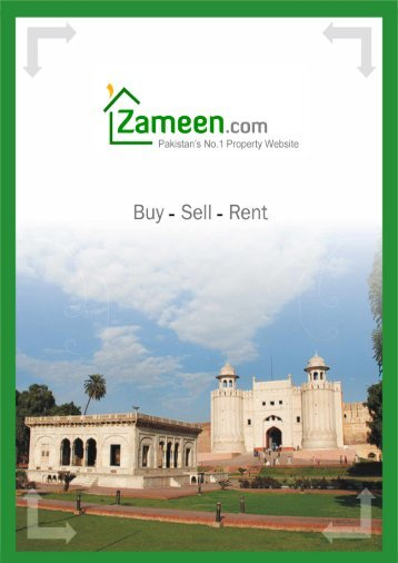 Table of Contents - Pakistan Property