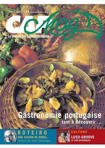 Gastronomie portugaise - Cap Magellan