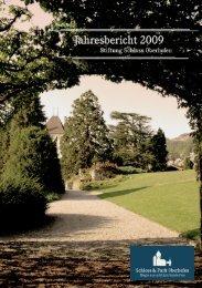 Jahresbericht 2009 - Schloss Oberhofen am Thunersee