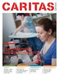 n°470: les entreprises sociales d'insertion - Caritas Genève