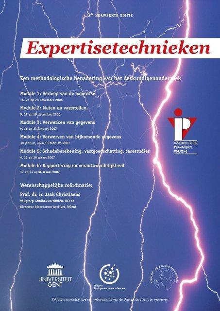 Expertisetechnieken - IVPV - Instituut voor Permanente Vorming ...