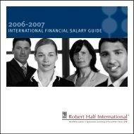 INTERNATIONAL FINANCIAL SALARY GUIDE - Accountingnet.ie