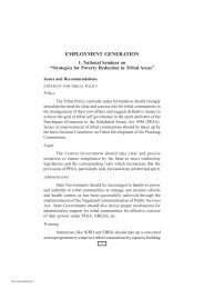 employment generation - National Institute of Rural Development