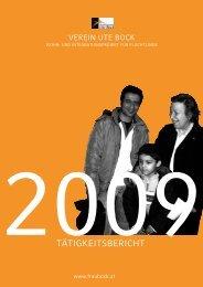 Tätigkeitsbericht 2009 - Verein Ute Bock