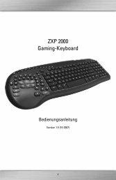 ZXP 2000 Gaming-Keyboard