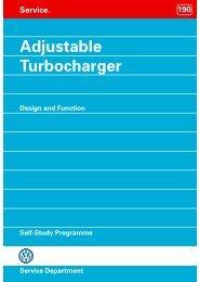 Adjustable Turbocharger - Volkswagen Technical Site