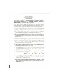 Zhang Cume 9-9-05 + Key - Department of Chemistry: Internal Web ...