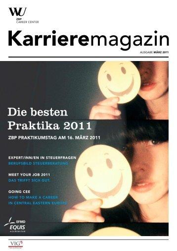 Die besten Praktika 2011