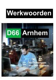 2014-02-14-Werkwoorden-Het-banenplan-van-D66-Arnhem