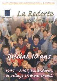 La Redorte sur le vif décembre 2005