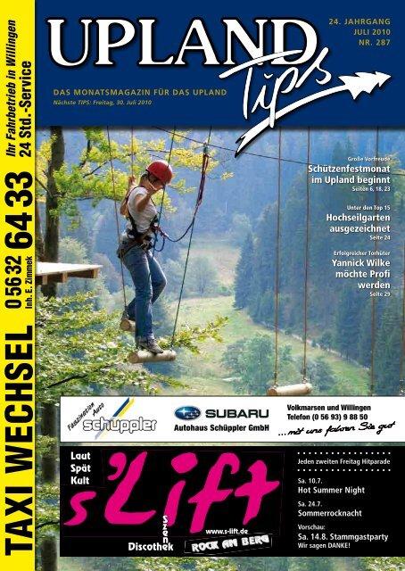 Juli-2010-Upland-Tips - Willingen live