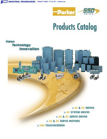 Parker SSD Drives Product Catalog - Faber Industrial Technologies