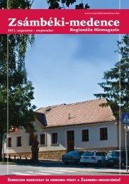 2011 AUGUSZTUS-SZEPTEMBER PDF-ben letölthető - Zsámbéki ...