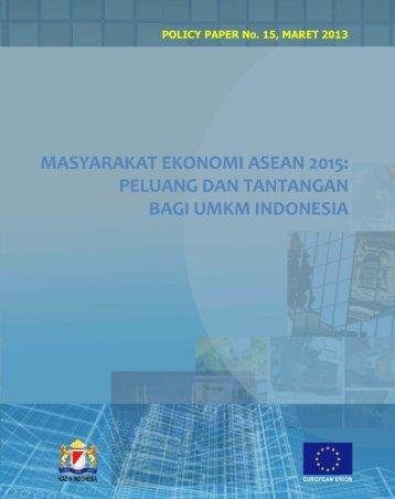Masyarakat Ekonomi ASEAN 2015 - Active - Kadin Indonesia