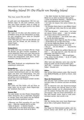 curse of monkey island manual pdf