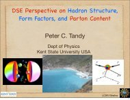 DSE Perspective on Hadron Structure, Form Factors, and Parton ...