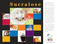 Everything You Need to Know About Sucralose - American ...