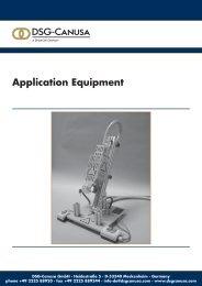 Application Equipment - DSG-Canusa