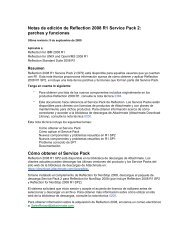 Reflection 2008 R1 SP2 Release Notes - Attachmate Technical ...