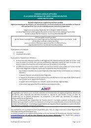 Prospectus Parts sociales - Crédit Agricole Loire Haute Loire